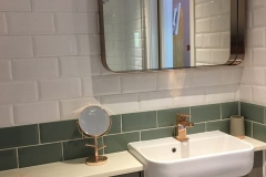 Crown en suite mirror