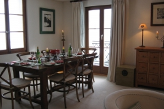 Swiss dining area