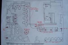 Lounge cafe floor plan design