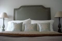 Master bed headboard