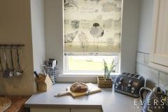 Bird kitchen blind