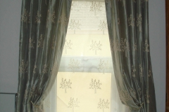 Pinch pleat curtainsa