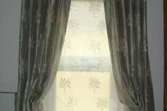 Pinch pleat curtainsa