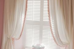 Soft drape linen curtains