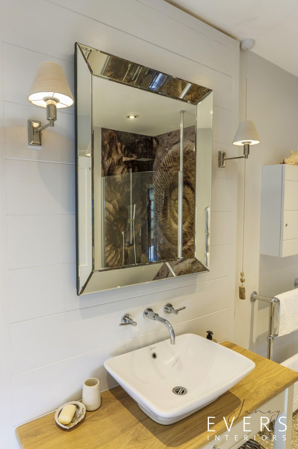 Master bathroom console